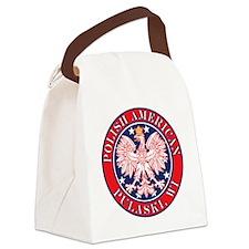 Pulaski Wisconsin Polish Canvas Lunch Bag