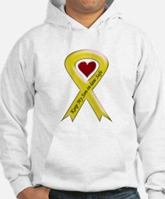 Keep My Son-in-law Safe Ribbon Hoodie