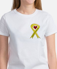 Keep My Son-in-law Safe Ribbon Women's T-Shirt