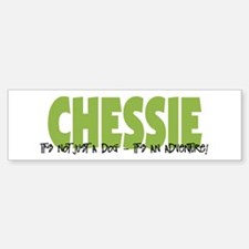 Chessie IT'S AN ADVENTURE Bumper Bumper Bumper Sticker