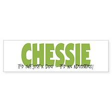 Chessie IT'S AN ADVENTURE Bumper Bumper Sticker