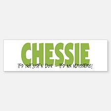 Chessie IT'S AN ADVENTURE Bumper Car Car Sticker