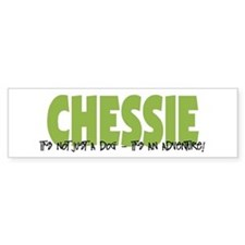 Chessie IT'S AN ADVENTURE Bumper Car Sticker