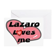 lazaro loves me  Greeting Cards (Pk of 10)