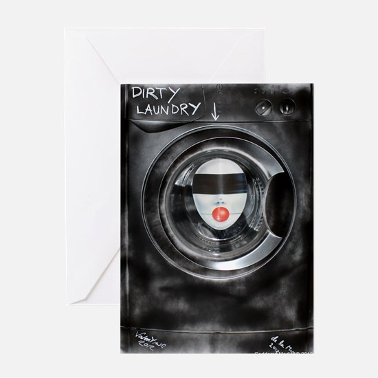 DIRTY LAUNDRY Greeting Card