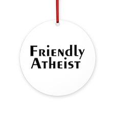 friendlyatheist2.png Ornament (Round)