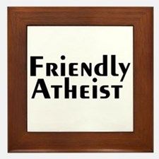 friendlyatheist2.png Framed Tile