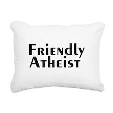 friendlyatheist2.png Rectangular Canvas Pillow