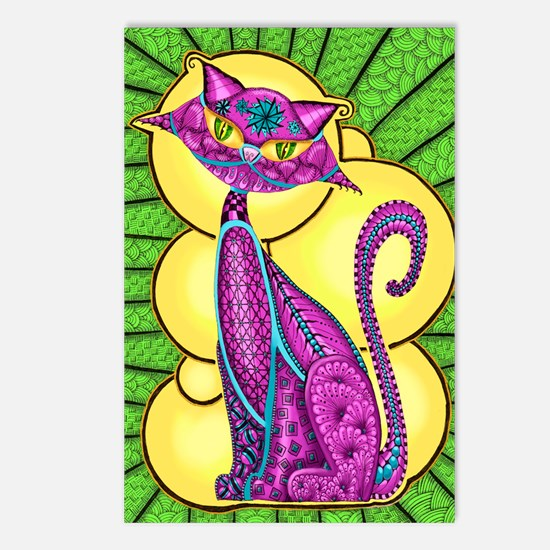 KrazyKitty Postcards (Package of 8)