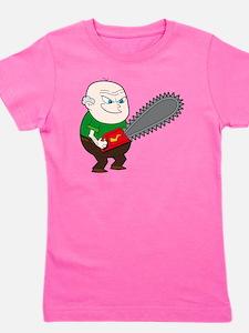Angry Chainsaw man Cartoon Girl's Tee