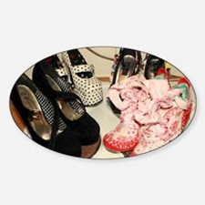 YOUR SHOES ARE COOKING Decal