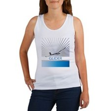 Aircraft Glider Women's Tank Top