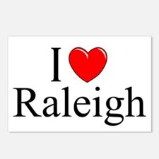 """""""I Love Raleigh"""" Postcards (Package of 8)"""