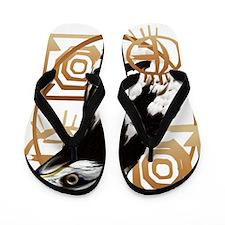 A Bird Of The Serengeti Trans Flip Flops