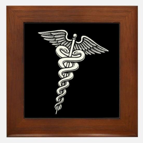 Cute Hospital corpsman Framed Tile
