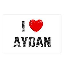 I * Aydan Postcards (Package of 8)