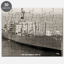 sdiego framed panel print Puzzle