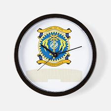 FSAvCh_HoP_Reunion_Tshirt_BW Wall Clock
