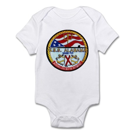 USS ALABAMA Infant Bodysuit