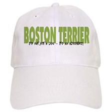 Boston Terrier ADVENTURE Baseball Cap