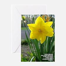 Lifes Garden/Flower photo Greeting Card