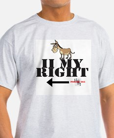 Donkey to my right Poker shirt T-Shirt