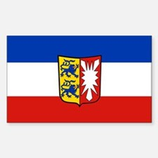 Schleswig Holstein Rectangle Decal