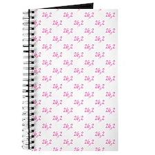 Pink 26.2 marathon Journal