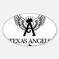 10 Texas Angels Logo Decal