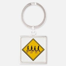 Abbey Road Xing Square Keychain