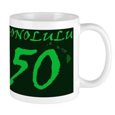 Honolulu 50 Mug