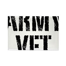 Army veteran Rectangle Magnet