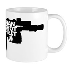 6x6 pocket black Mug