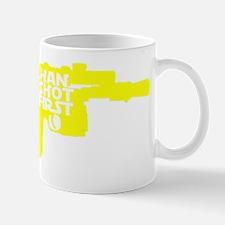 6x6 pocket yellow Mug