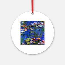 NC Monet WL1916 Round Ornament
