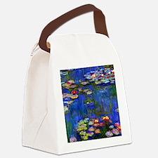 NC Monet WL1916 Canvas Lunch Bag