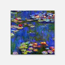 "NC Monet WL1916 Square Sticker 3"" x 3"""