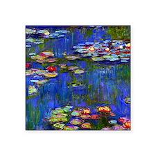 "Frame Monet WL1916 Square Sticker 3"" x 3"""