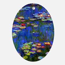 443 Monet WL1916 Oval Ornament