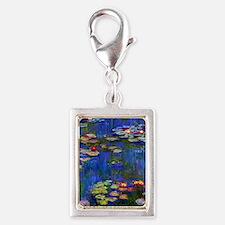 443 Monet WL1916 Silver Portrait Charm