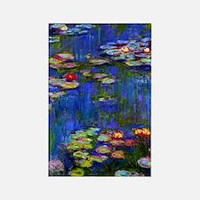 443 Monet WL1916 Rectangle Magnet