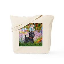 Garden - Scottish Terrier Tote Bag