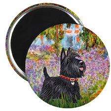 Garden - Scottish Terrier Magnet
