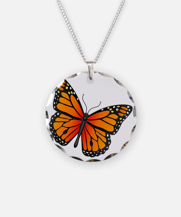 monarch-butterfly Necklace