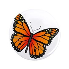 """monarch-butterfly 3.5"""" Button"""