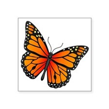 "monarch-butterfly Square Sticker 3"" x 3"""