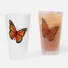 monarch-butterfly Drinking Glass