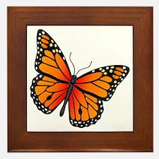 monarch-butterfly Framed Tile