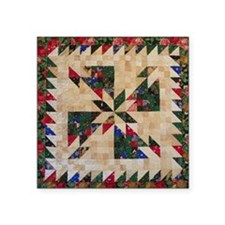 "Hunters Star Square Sticker 3"" x 3"""