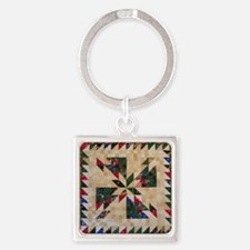 Hunters Star Square Keychain